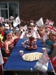 Brownies and Rainbows jubilee teaparty