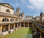 The great bath at the RomanBaths