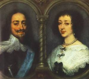 Charles and Henrietta