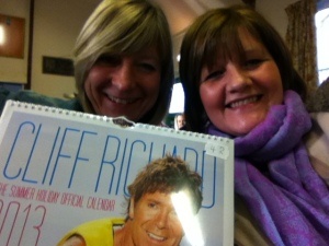 Carole and Jane with Cliff