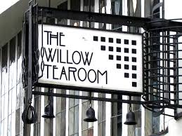 willow te room sign