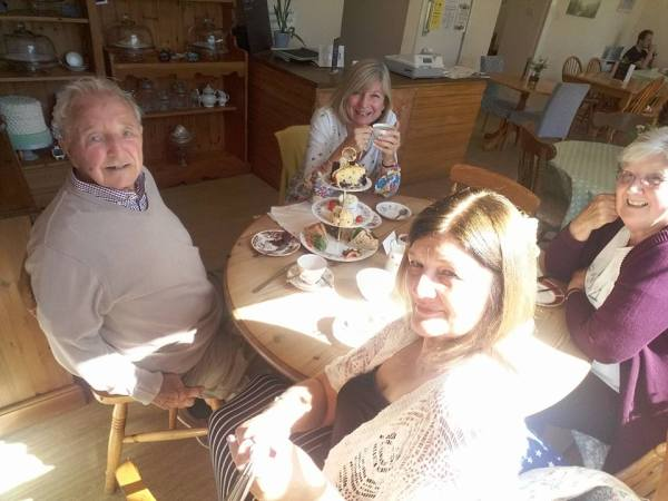 afternoon tea with the wrinklies