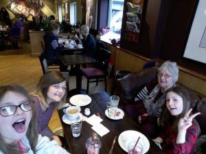 coffee with neices