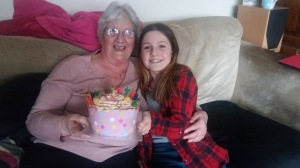 mum and hannah bday
